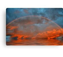 Tropical Rainbow Canvas Print