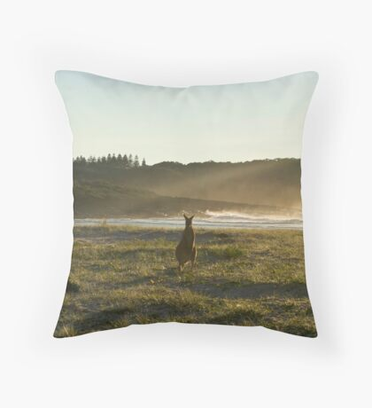 Kangaroos 2 Throw Pillow