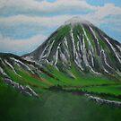 Mount Croagh Patrick, Irish Republic by Samuel Ruth