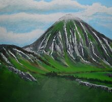Mount Croagh Patrick, Irish Republic by Samuel Ruth