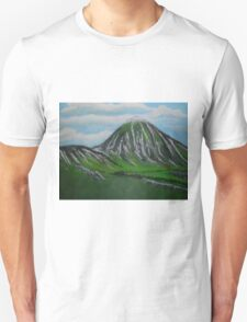 Mount Croagh Patrick, Irish Republic Unisex T-Shirt