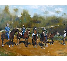 PAINTING FOR KIRRILLY - The Magnificent 5  Photographic Print