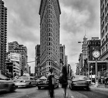 Flatiron Building, Study 1 by Randy  LeMoine