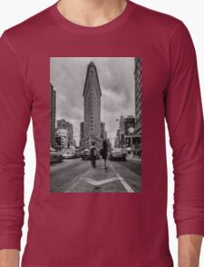 Flatiron Building, Study 1 Long Sleeve T-Shirt