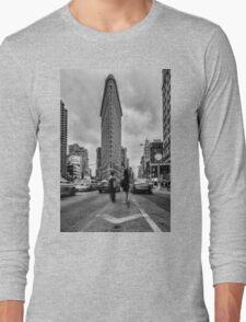 Flatiron Building, Study 1 Long Sleeve T-Shirt