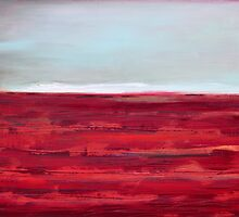 red landscape by Iris Lehnhardt