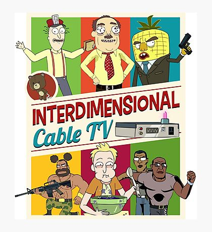Interdimensional Cable TV Photographic Print