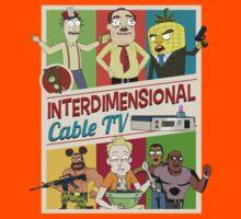 Interdimensional Cable TV by rickamortis