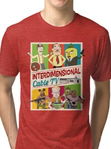Interdimensional Cable TV Tri-blend T-Shirt