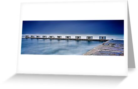 Merewether Baths - Back Blocks by Maxwell Campbell