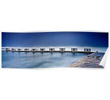 Merewether Baths - Back Blocks Poster
