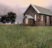 Wallendbeen Church by Dianne English