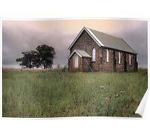 Wallendbeen Church Poster
