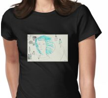 A farewell Womens Fitted T-Shirt