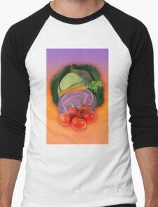 Vegetables 2 / Fruit Shop Men's Baseball ¾ T-Shirt