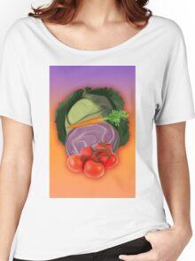 Vegetables 2 / Fruit Shop Women's Relaxed Fit T-Shirt