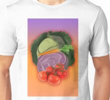 Vegetables 2 / Fruit Shop Unisex T-Shirt