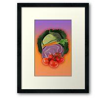 Vegetables 2 / Fruit Shop Framed Print