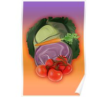 Vegetables 2 / Fruit Shop Poster
