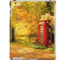 Autumn lane iPad Case/Skin