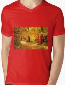 Autumn lane Mens V-Neck T-Shirt