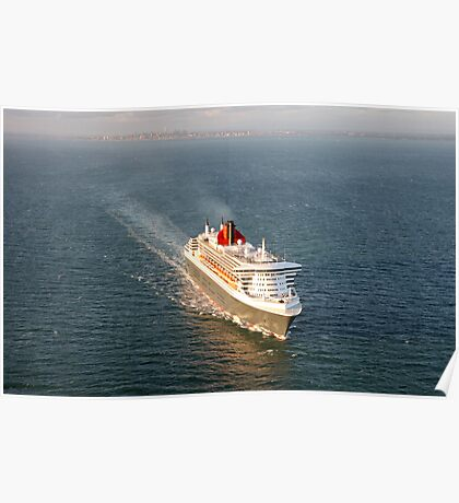 Queen Mary 2 - Port Phillip Bay Poster