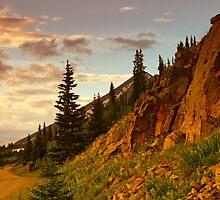 Road To The Sky by John  De Bord Photography
