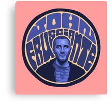 Frusciante Canvas Print