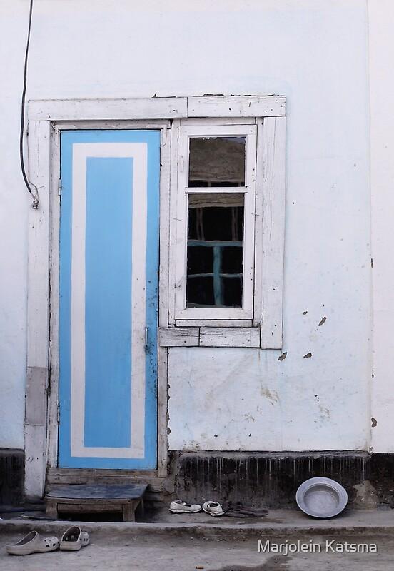 Narrow door narrow window posters by marjolein katsma for Narrow window
