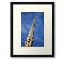 Tall Spire Framed Print