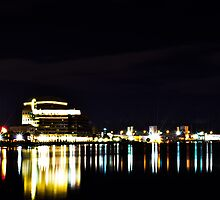 When the lights go down in the city  by NEDreamsPhoto