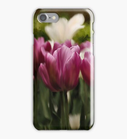 Tulips in Spring iphone case iPhone Case/Skin