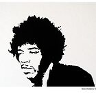 Jimi Hendrix by House Of Wonderland