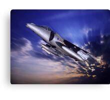 Royal Air Force Harrier Canvas Print
