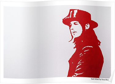 Jack White/The White Stripes by Tessa Shearer