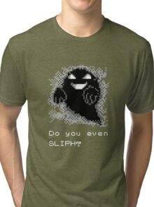 Do You Even SLIPH? (GB Version, for Dark Backgrounds) Tri-blend T-Shirt