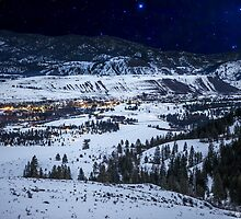 Starry Night Over Winthrop and the Methow Valley by Jim Stiles