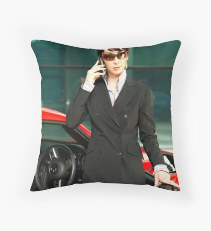 corporate mannequin  Throw Pillow