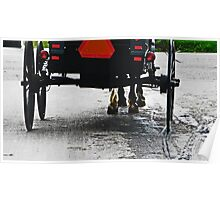 Amish Buggy Poster