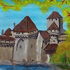 Some Castle, Switzerland by lorileeg