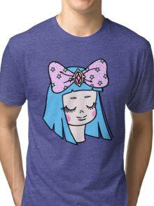 Blue Princess Tri-blend T-Shirt