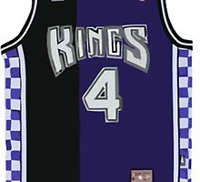 Throwback Sacramento Kings Jersey by ColbyCo