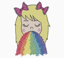 Rainbow Barf Kids Clothes