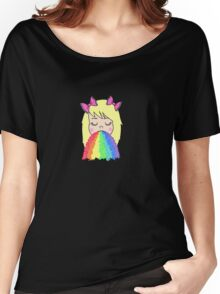 Rainbow Barf Women's Relaxed Fit T-Shirt