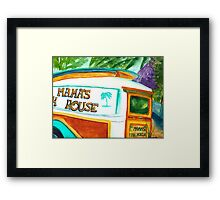 Mama's Fish House Framed Print