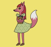 Bookworm Fox One Piece - Short Sleeve