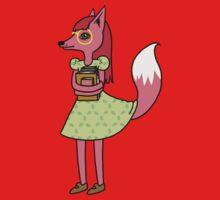 Bookworm Fox Kids Tee
