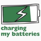 Charging My Batteries by Sachyn