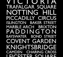 London Bus Roll (Bus Blind) by ArtPrints
