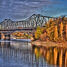 Bridge over Water by Andre Faubert